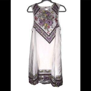 Skylar & Jade Dress Ivory BOHO